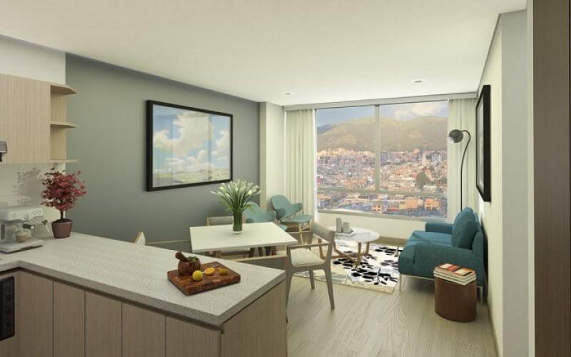 Proyecto de vivienda magenta apartamentos for Apartamentos nuevos en bogota