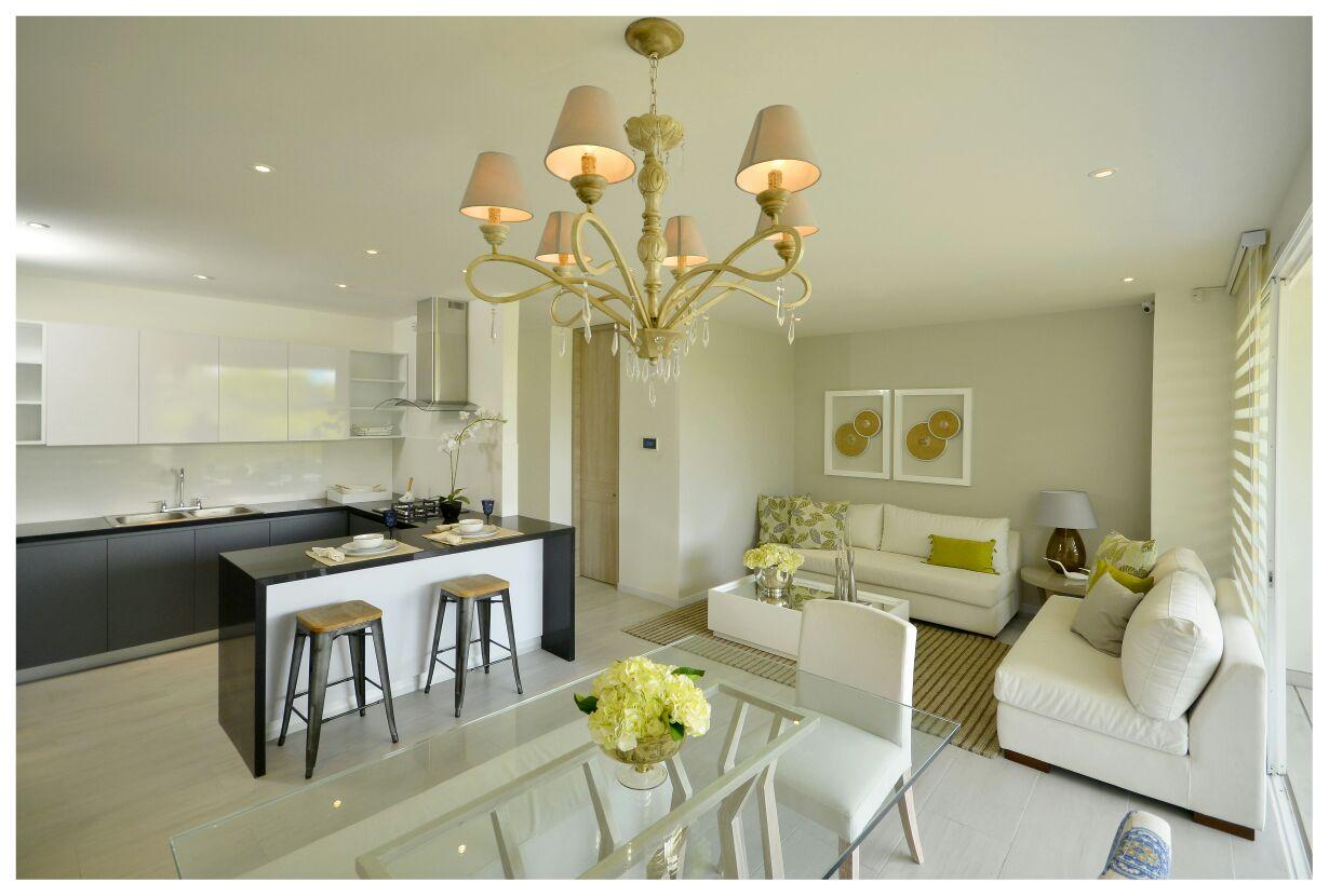 Vista diurna apartamento modelo