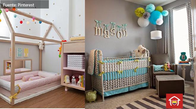 Decoración de cuarto de bebé: 10 recomendaciones para ...